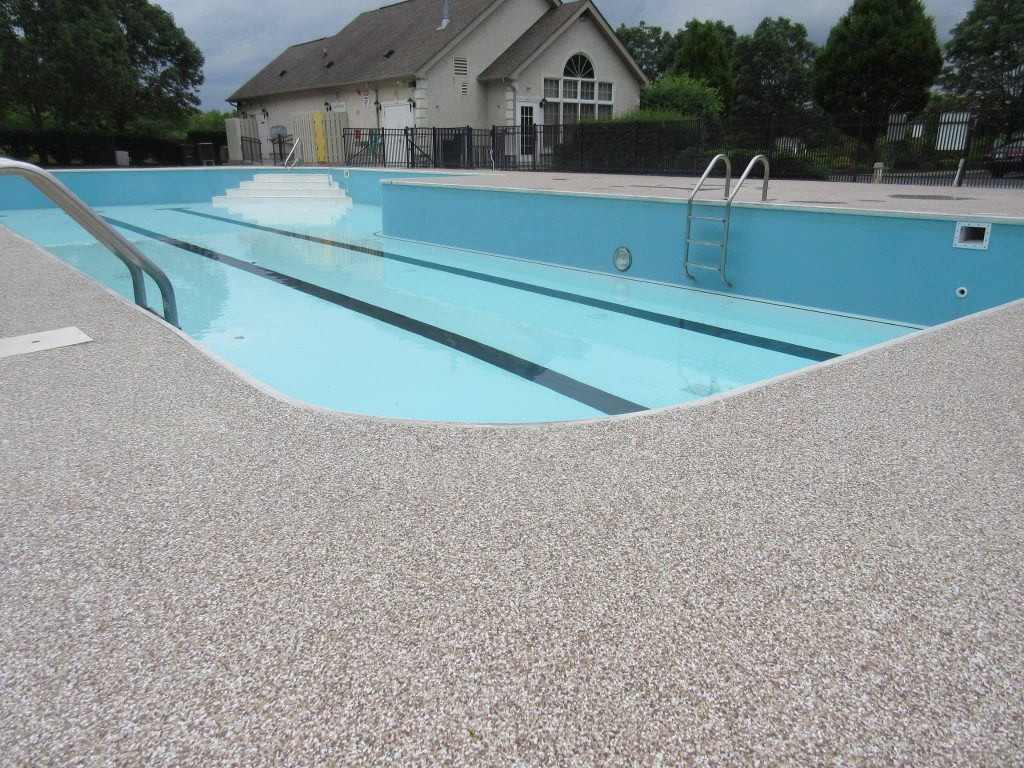 Graniflex pool Deck