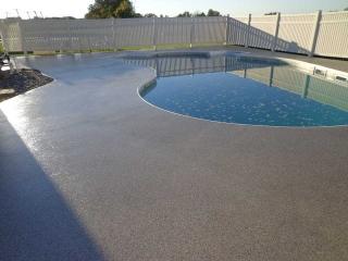 Graniflex pool Deck