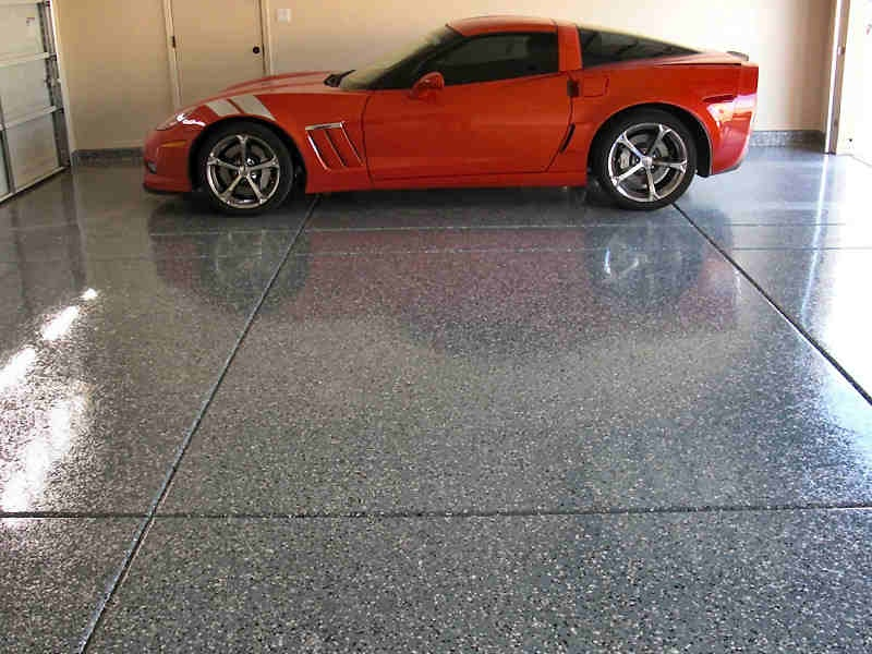 Durable Graniflex Garage Floor Coating