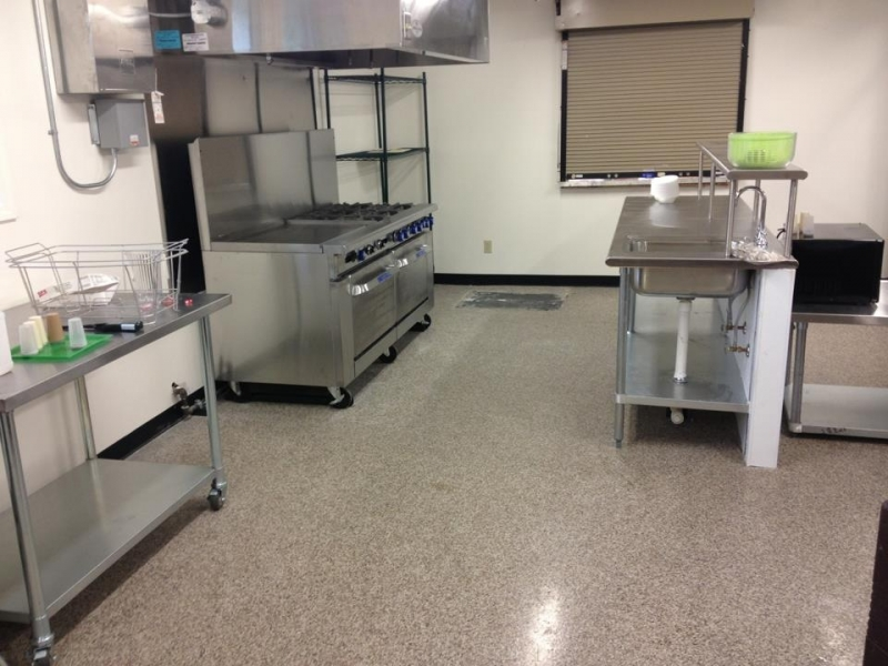 Graniflex Kitchen Floor