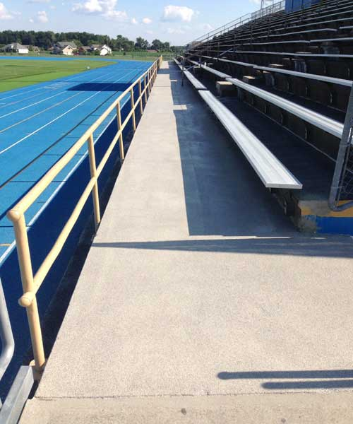 Graniflex Grandstand Resurfacing