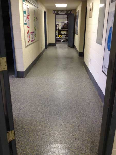 Graniflex Hallway Resurfacing