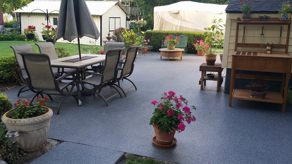 Graniflex outdoor Patio