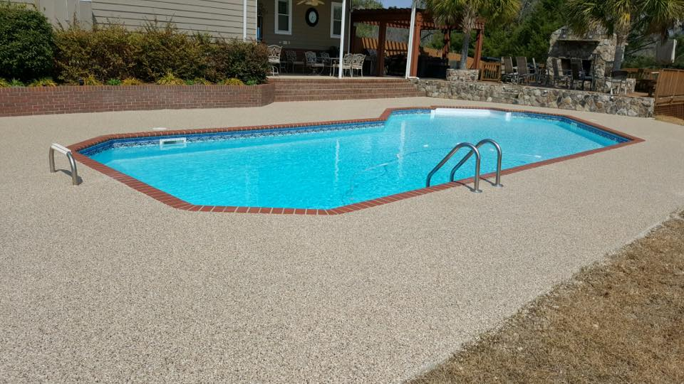 Graniflex Pool Deck | Pool Deck Concrete Coating