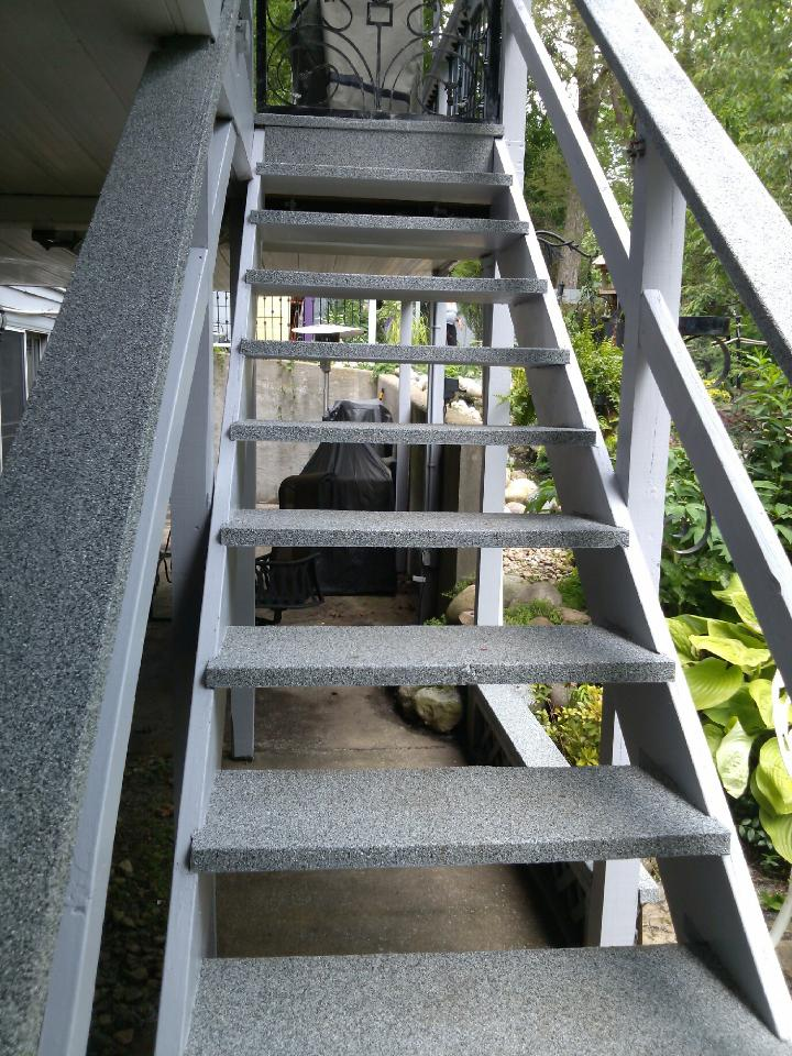Graniflex Stairs | Concrete Resurfacing