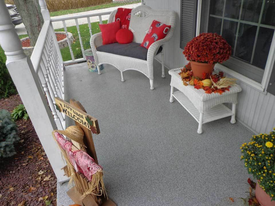 Graniflex Porch | Concrete Resurfacing